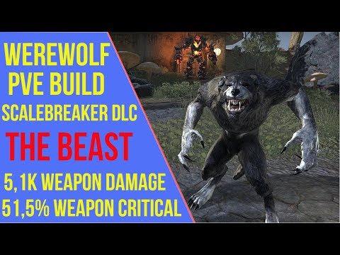 Werewolf PVE Build - The Beast - ArzyeLBuilds