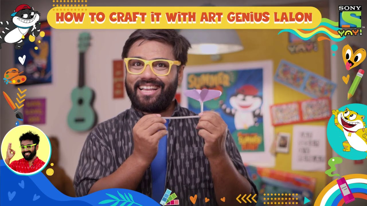 How to make a wind ball - Episode 8 | How to craft it with Lalon | DIY videos for kids