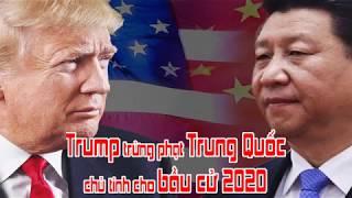 Trump trừng phạt Trung Quốc chủ tính cho bầu cử 2020