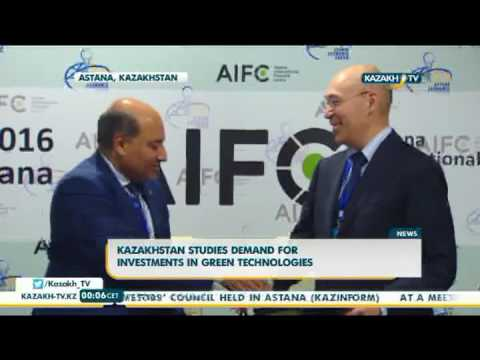 Kazakhstan studies demand for investments in green technologies