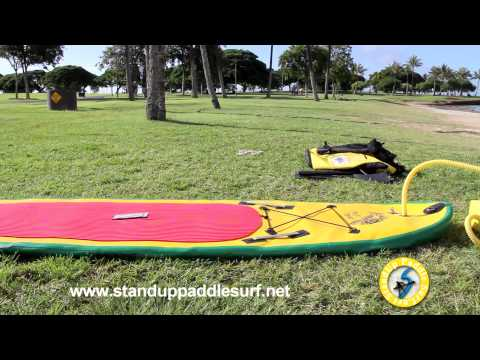 stand up paddle board video instruction