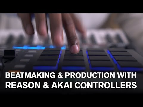 Beatmaking & production with Reason & AKAI controllers