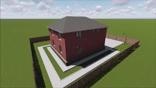 проект 2 ух этажного дома 10 на 12
