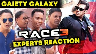 RACE 3 | HIT Or FLOP | Reaction From Experts Of Gaiety Galaxy Mumbai | Salman Khan