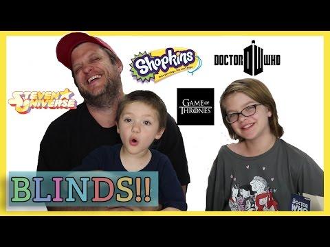 Opening Blinds (Minion Vlog) Shopkins, Cooper original, Steven Universe | Day 1132 | ActOutGames