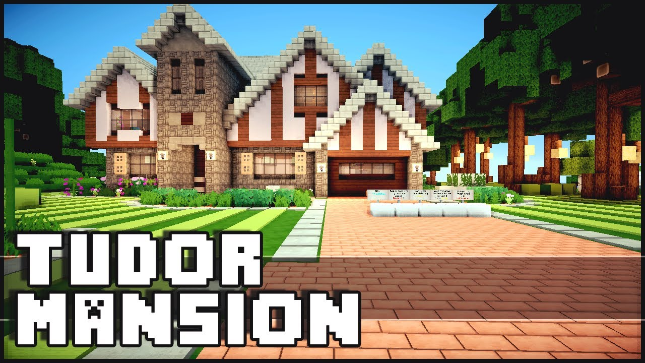 Minecraft Tudor Mansion w Yacht Airfield YouTube