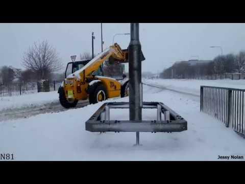 Snowstorm of 2018 - Tallaght, Dublin, Ireland (The Beast From The East) [4K UHD]