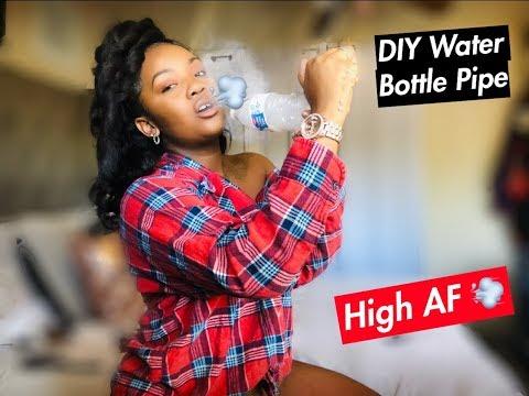 #DIY Water Bottle Pipe