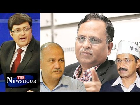 Can Arvind Kejriwal & Manish Sisodia SAVE Satyendar Jain?: The Newshour Debate (27th Sep 2016)