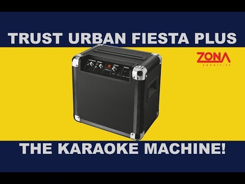 Trust Urban Fiesta Plus - The ultimate karaoke machine!