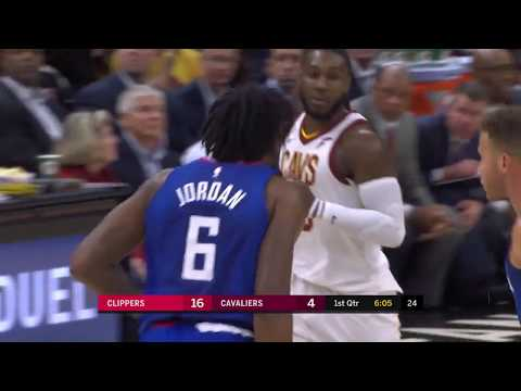 Clippers vs Cavaliers Full Highlights   11.17.17