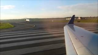 Delta Connection CRJ-900 Morning Takeoff at Detroit Metro Airport DTW