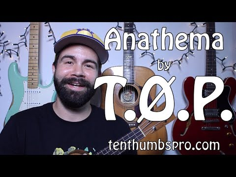 Twenty One Pilots - Anathema - Easy song Ukulele Tutorial