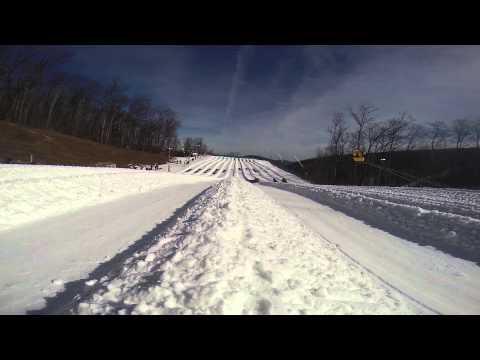 Snow Tubing at Wintergreen Resort