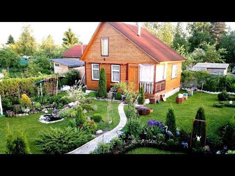 Дизайн садового участка своими руками из подручных материалов фото