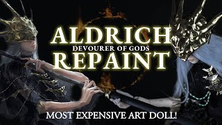 MY MOST EXPENSIVE CUSTOM ART DOLL - Aldrich - Devourer of Gods Dark Souls Halloween Special