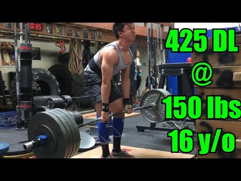 When Can Form Breakdown? 16 Y/o Deadlifts 425 Lbs @ 150 Lbs. BW