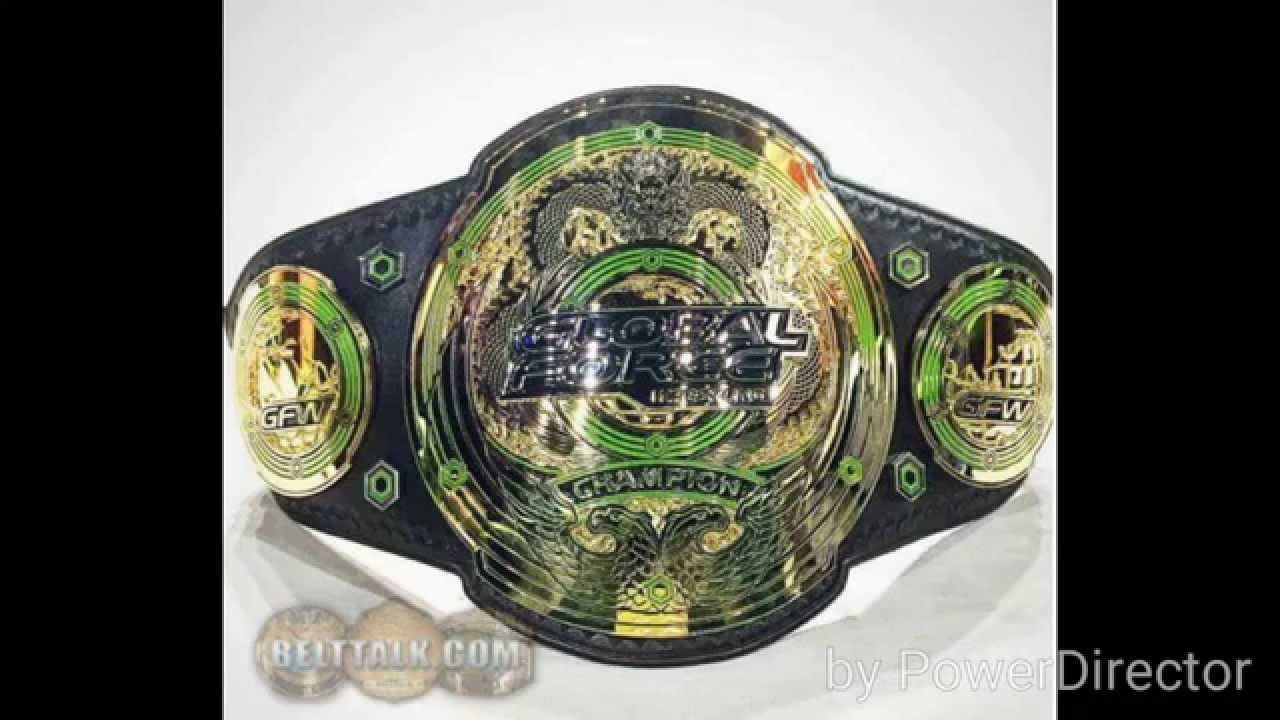 Global Force Wrestling Championship Titles Review - YouTube