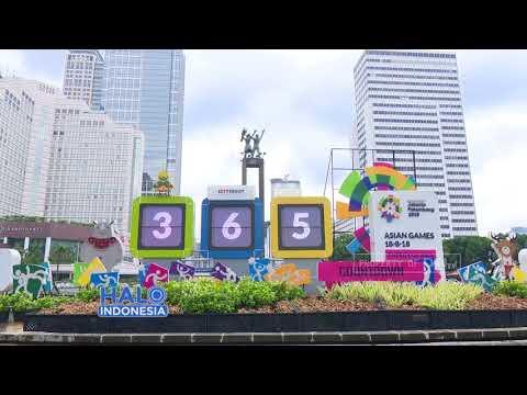 Wajah Jakarta Jelang Asian Games 2018