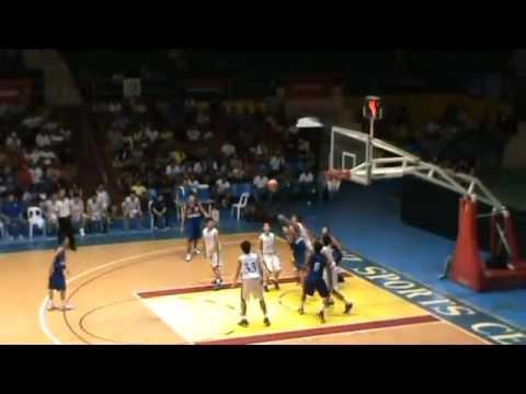 16th UniGames AdMU vs NORSU Basketball Men