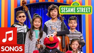 Sesame Street Songs Medley feat. Joyous String Ensemble | The Not-Too-Late Show with Elmo