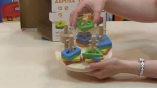 видео Деревянная игрушка