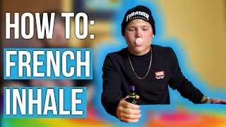 How to FRENCH INΗALE for BEGINNERS (Tutorial)