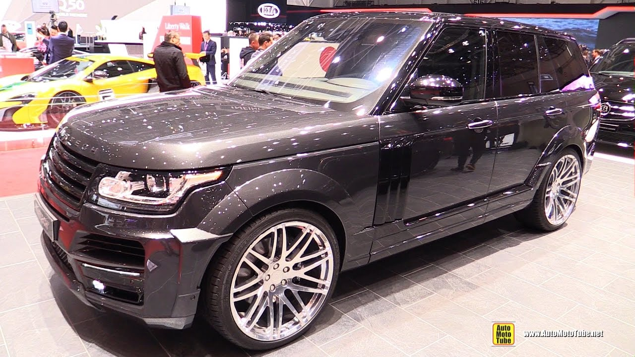 2017 range rover startech exterior and interior walkaround 2017 geneva motor show youtube. Black Bedroom Furniture Sets. Home Design Ideas