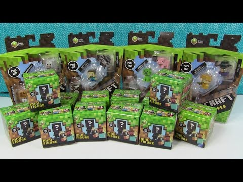 Minecraft How To Get Complete Grass Series 1 Blind Box Collection Easiest Way With Codes