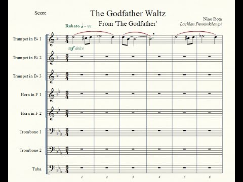 The Godfather Waltz - Brass Octet