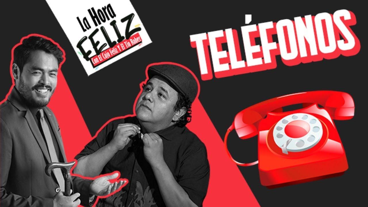 La Hora Feliz: Teléfonos
