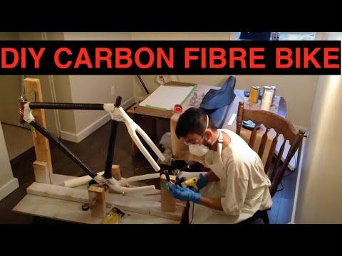 Making carbon fiber frame