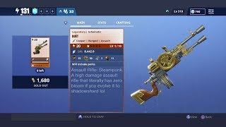 """New """"DUET"""" weapon gets first-shot accuracy on EVERY SHOT... (Fortnite: Save The World)"""
