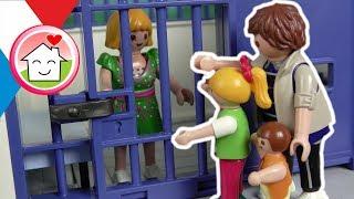 Playmobil en français Vol au musée - police comissaire Overbeck - Famille Hauser