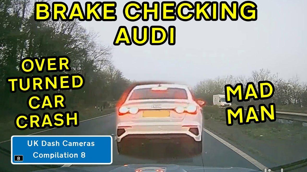 UK Dash Cameras - Compilation 8 - 2021 Bad Drivers, Crashes & Close Calls