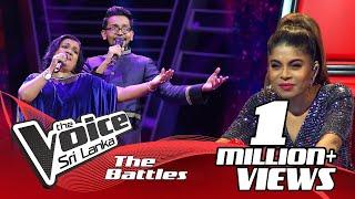 The Battles : Harith Wijeratne V Ganga Abeynayake  | Sandak Nagi (සඳක් නැගී) | The Voice Sri Lanka Thumbnail