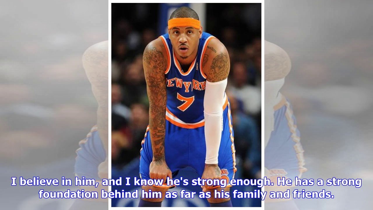 dbc2fbf2765e Carmelo Anthony on his NBA future   I just want to be happy  - YouTube