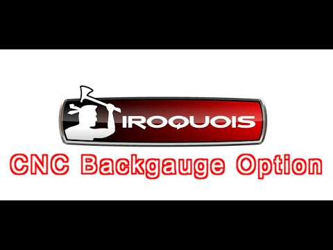 Optional CNC Backgauge  for Iroquois Press Brakes