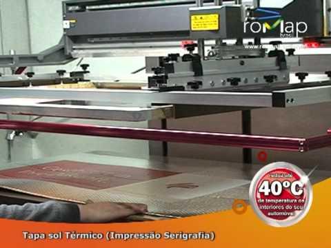 Tapasol Fabrico com Serigrafia