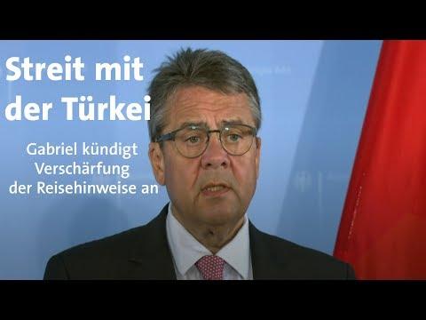 Türkei: Gabriel verschärft Reisehinweise