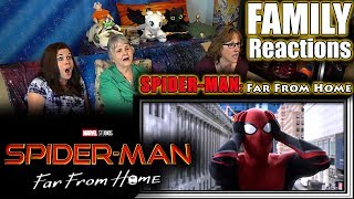 SPIDER-MAN: Far From Home | FAMILY Reactions
