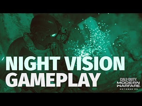 Call of Duty: Modern Warfare's Night Vision Looks Amazing in Gameplay Video
