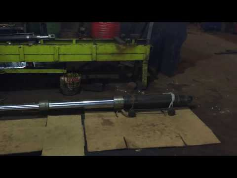 Multistage Double Action Telescopic Hydraulic Cylinder