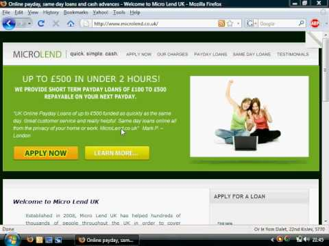 Micro Lend UK: Payday Loans Online. Quick. Simple. Cash!