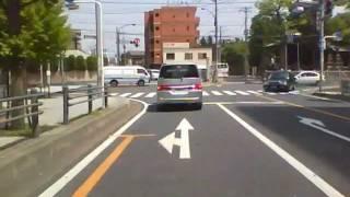 埼玉県道401号 01 谷塚停車場線 草加→谷塚駅
