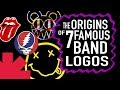 The Origins of 7 Famous Band Logos