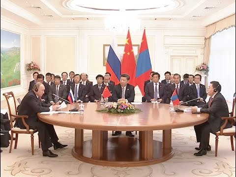 China, Russia, Mongolia Endorse Development Plan on Economic Corridor