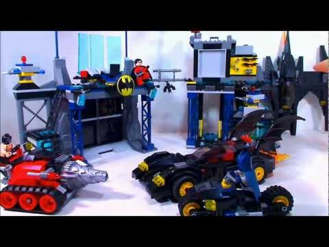 Lego 2012 SuperHeroes The Batcave Review
