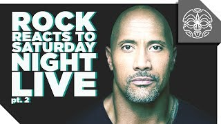 The Rock Reacts to his Favorite Sketches from Saturday Night Live: PART 2