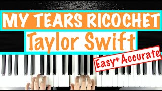 "How to play ""MY TEARS RICOCHET"" - Taylor Swift 